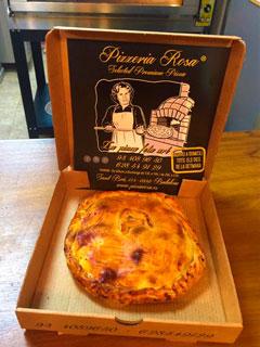 Franquicia Pizza Rosa